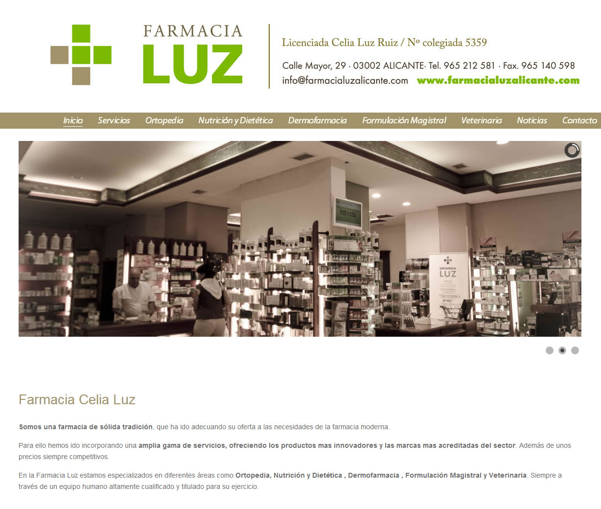Farmacia Luz - Alicante