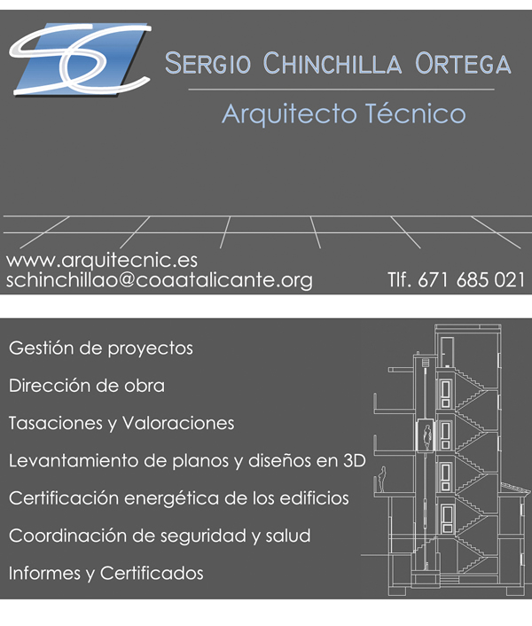 Sergio Chinchilla Arquitecto – Benidorm.