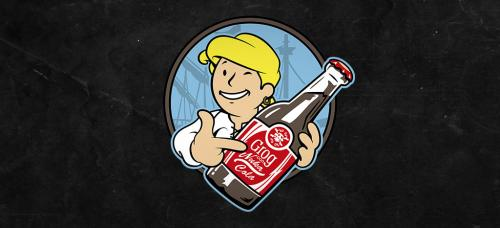 Grog con Nuka Cola Logo