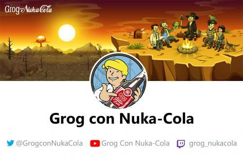 Grog con Nuka Cola Logo y Banner