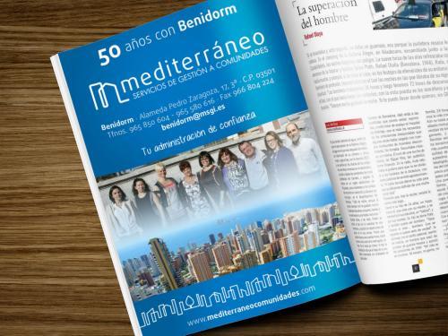 Mediterraneo Anuncio Prensa