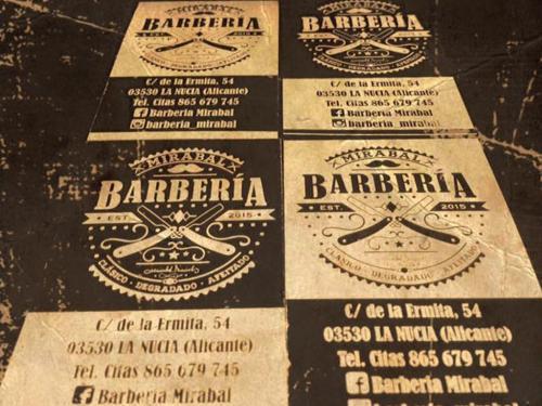 Mirabal Barberia Tarjetas