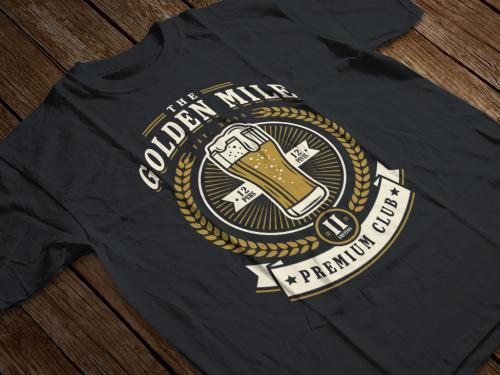 The Golden Mile Camiseta