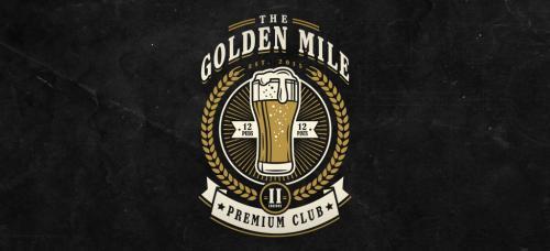 The Golden Mile Logo
